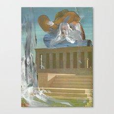 B L O O D Canvas Print