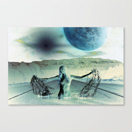 The Galaxy at the End of The Road Canvas Print