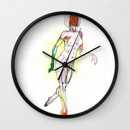 Cosmopolitan, Nude female anatomy, NYC artist Wall Clock