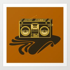 Radio Head Art Print