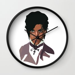 Prince with Symbol Wall Clock