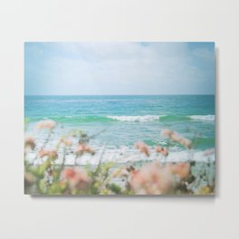 Seablush Metal Print