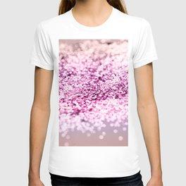 Unicorn Girls Glitter #7 #shiny #decor #art #society6 T-shirt