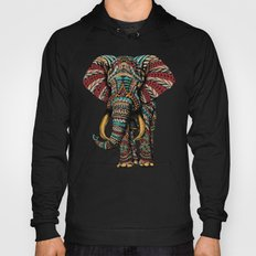 Ornate Elephant (Color Version) Hoody