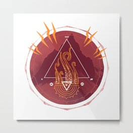 Mountain of Madness Metal Print