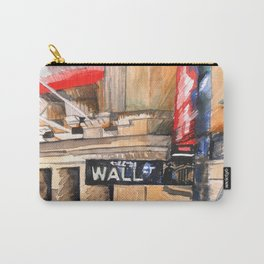WALL ST I Carry-All Pouch