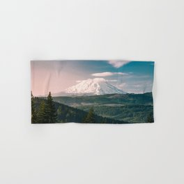 Saints and Sinners - 126/365 Nature Photography Mount St. Helens Hand & Bath Towel