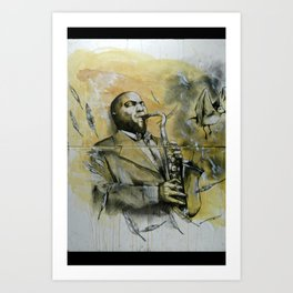 Classic Material Series - Feathers (c.2006) Art Print