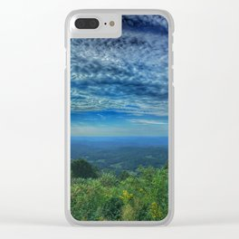 Morning View from the Blue Ridge Parkway Clear iPhone Case