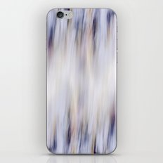 Washed out blue iPhone & iPod Skin