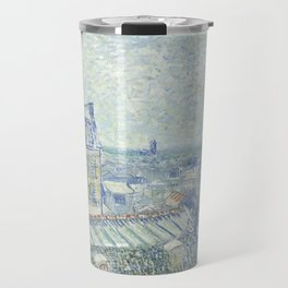 Van Gogh - View from Theo's Apartment, 1887 Travel Mug