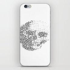 Blockhead iPhone & iPod Skin