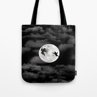 angels Tote Bags featuring Angels by ARIS8