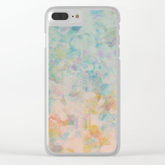 Camouflage XXXXI Clear iPhone Case