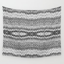 Missoni Style Mono Wall Tapestry