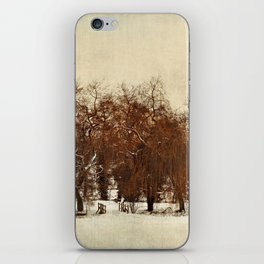 Winter Red iPhone Skin