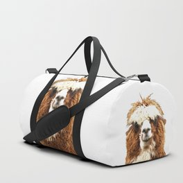 Alpaca Portrait Duffle Bag
