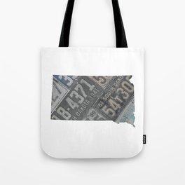 Vintage South Dakota Tote Bag