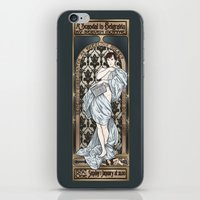 scandal iPhone & iPod Skins featuring A Scandal in Belgravia - Mucha Style by Alessia Pelonzi