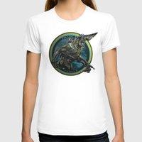 pacific rim T-shirts featuring Knifehead - Pacific Rim by Leamartes