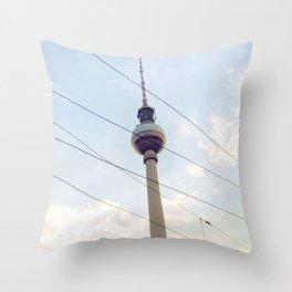 Berliner Fernsehturm Throw Pillow