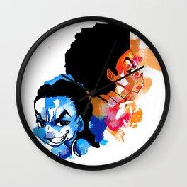 Huey x Riley Red N Blue Wall Clock