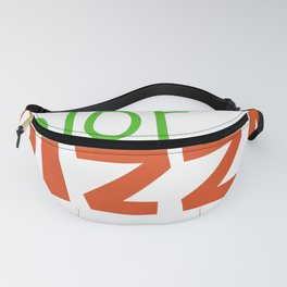 My Favorite Color Is Pizza Fanny Pack