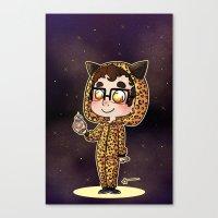 darren criss Canvas Prints featuring Darren & BB8 by Sunshunes