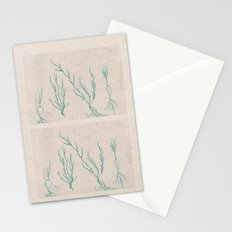 Plants in a Line Stationery Cards