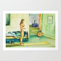 Happy Hopperween Art Print