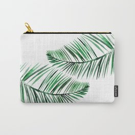Tropical Exotic Palm Leaves Carry-All Pouch
