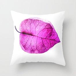 Bougainvillea Flower Throw Pillow
