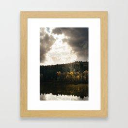 River // Autumn Framed Art Print