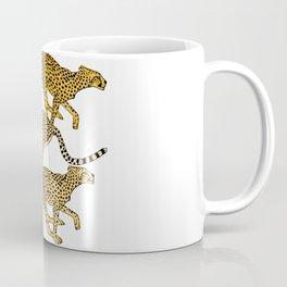 Go Cheetahs Go Pen and Ink by Lorloves Design Coffee Mug