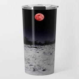 Red-lit Night Travel Mug