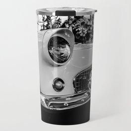 Classic 57 T-bird Black and White Photographic Print Travel Mug