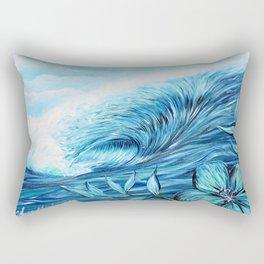 Blue Paradise Rectangular Pillow