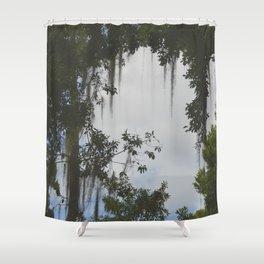 rip vine Shower Curtain