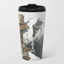 Inuksuk at the Peak Travel Mug