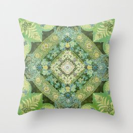 Renewal Springs from Woman Throw Pillow