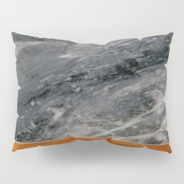 Marble and Wood 3 Pillow Sham
