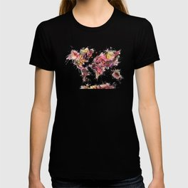 World Map 2033 T-shirt