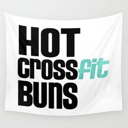 Hot Crossfit Buns Wall Tapestry