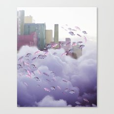 Not all Who Wonder are Lost Canvas Print