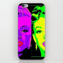 Marilyn - Neon 2 iPhone Skin