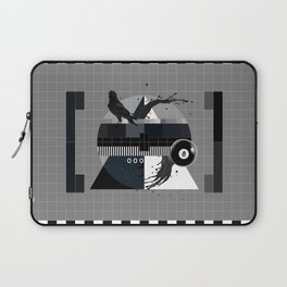 Waiting for the show to begin (Test Pattern 2) Laptop Sleeve