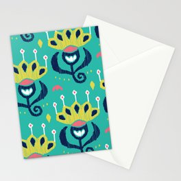 Royal Ikat Stationery Cards