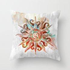 My God is the Sun Throw Pillow