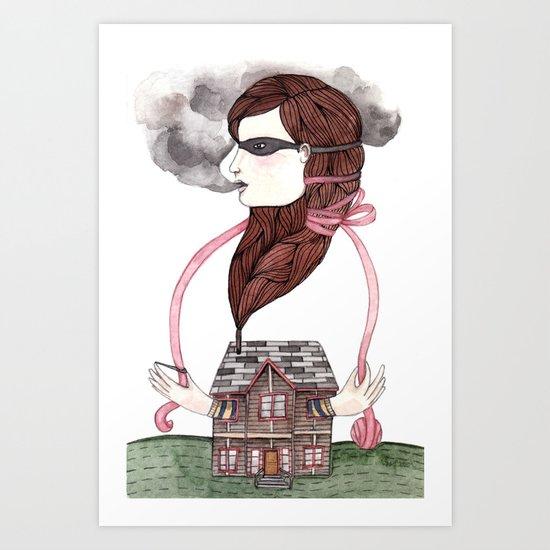 Little Smokes Art Print