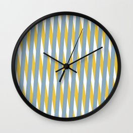 Moire Optical Illusion Wall Clock